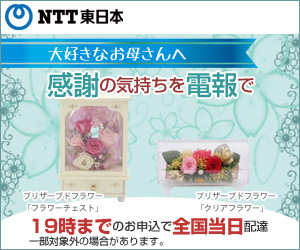NTT東日本D MAIL 母の日特集2014