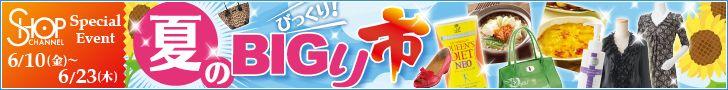 ショップチャンネル 夏のBIGり市