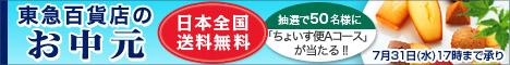 東急百貨店のお中元2013
